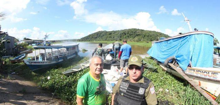 Sema e Policia Militar Realizaram Operação de Repreensão na Região do Lago do Mondongo