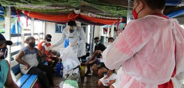 Realização de mais uma ação em combate e minimização dos riscos de contaminação do vírus da COVID-19.
