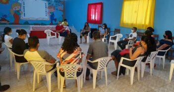 Diretores de escolas da Terra Firme participam de reunião visando retomada das atividades presenciais.